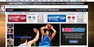 NBA-Website