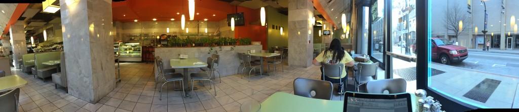 panorama of Landmark Diner