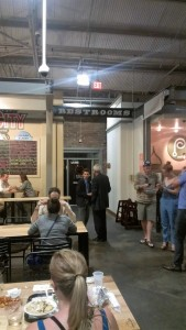 Public restrooms available to Krog Street Market patrons