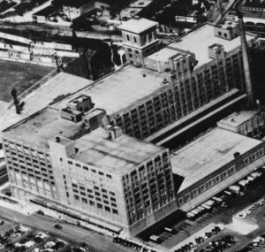 Sears and Roebuck aerial view of rootop, 1967. AJCP299-056d, Atlanta Journal-Constitution Photographic Archives. Special Collections and Archives, Georgia State University Library.