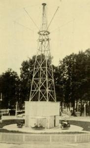 Circle Swing at Ponce de Leon Springs, 1907. ATLGuidebook1907_029, Historic Atlanta Guidebook Images, Georgia State University Library Digital Collections