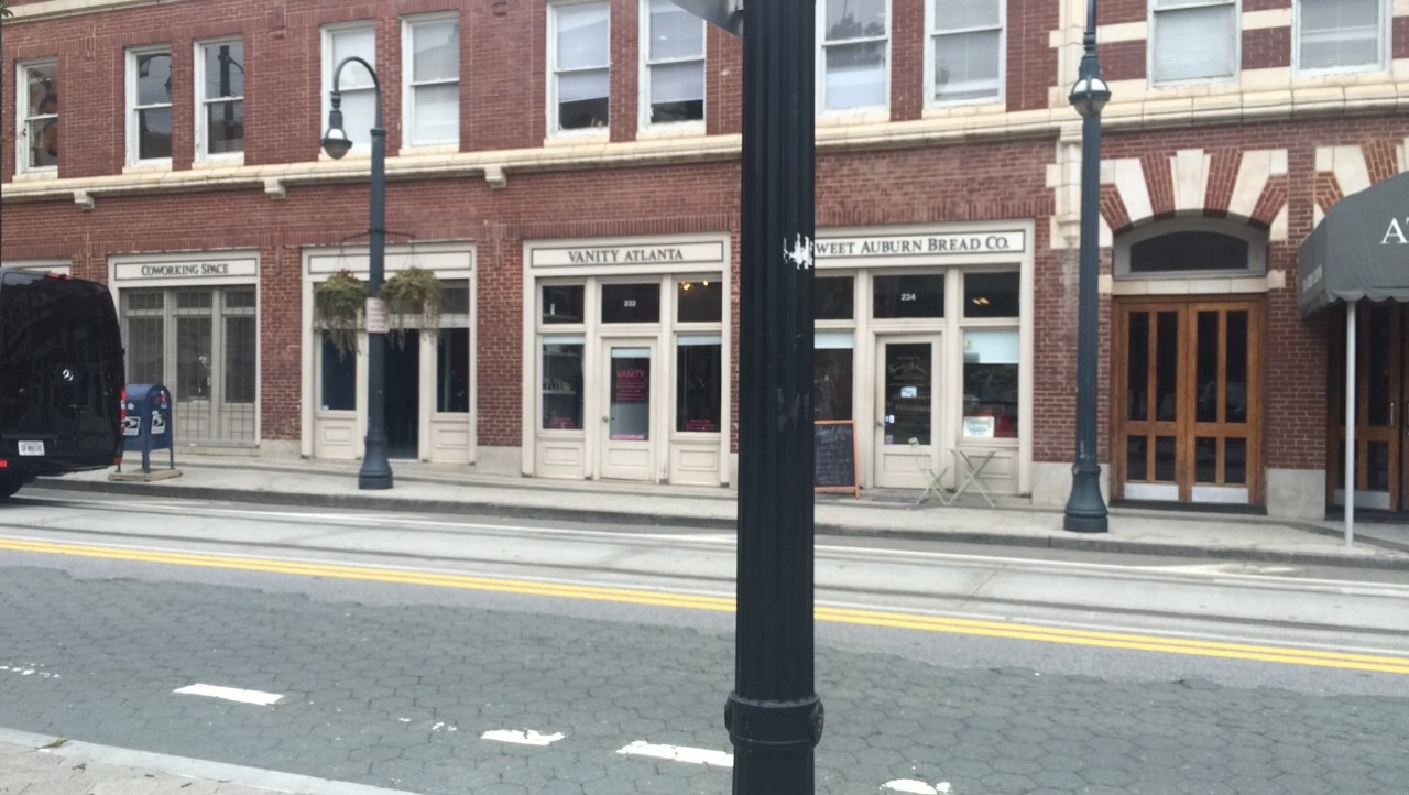 New businesses, taking the place of the Odd Fellows building.