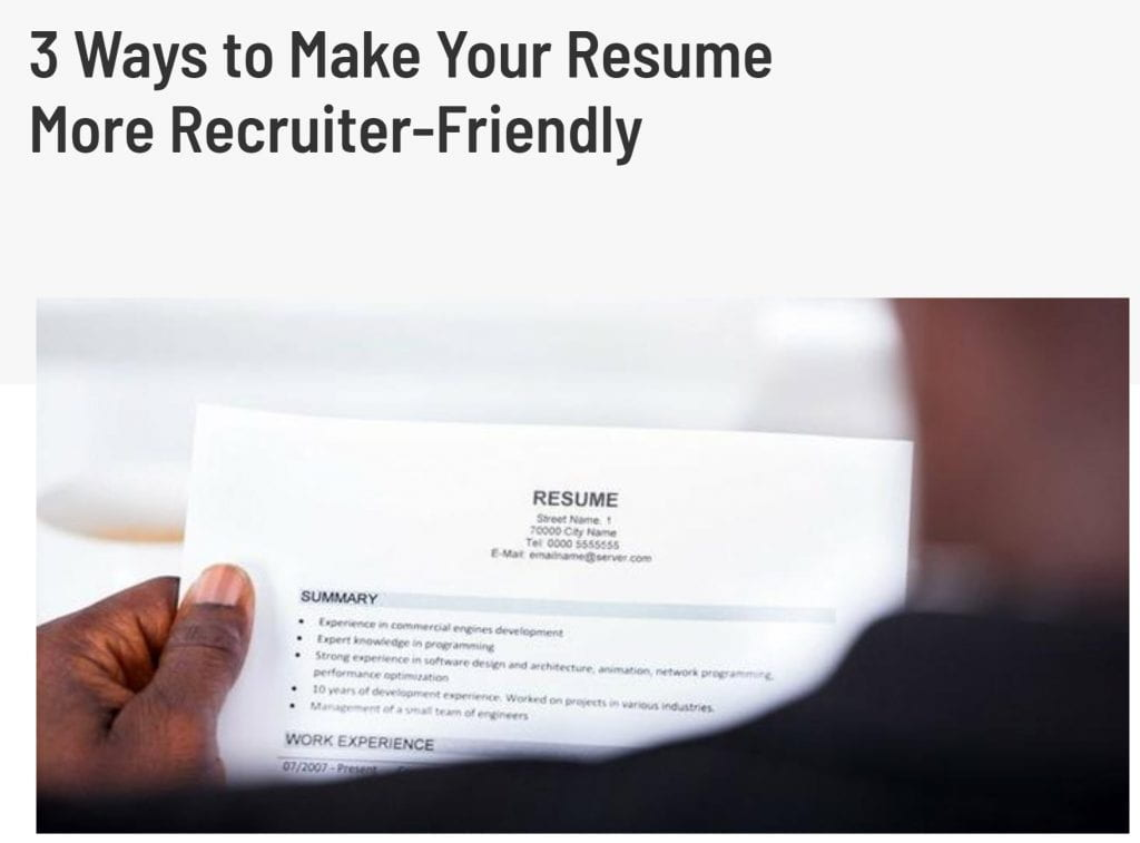 make_your_resume_recruiter_friendly