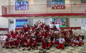 """At the """"Juntos Podemos"""" school in Panamá"""