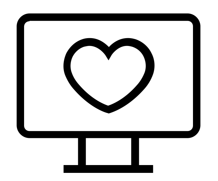 Heart on Monitor