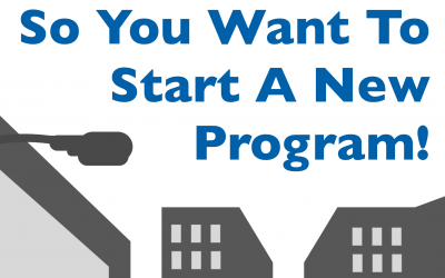 So You Want To Start a New Program!