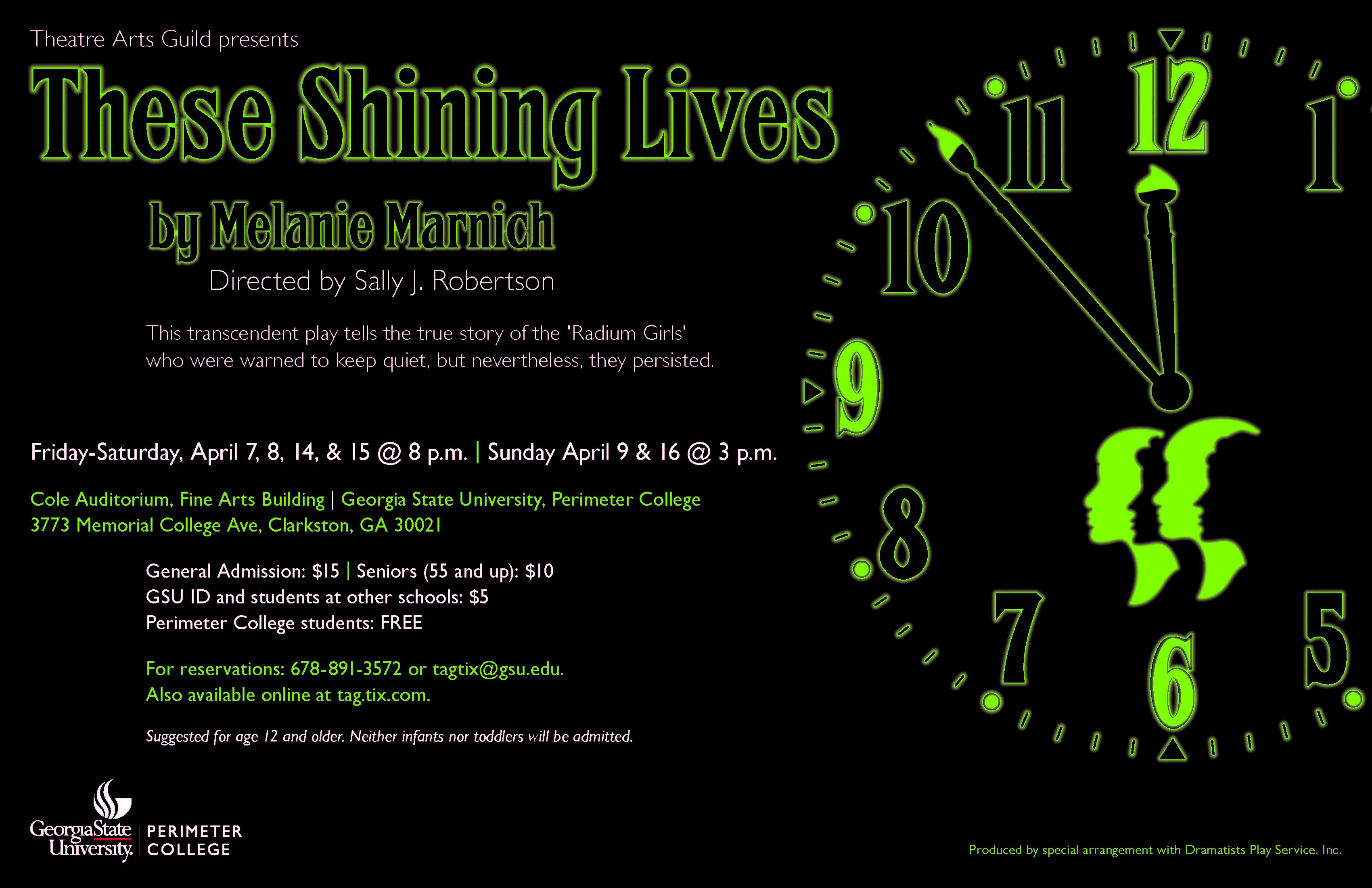 these shining lives u2013 theatre arts guild