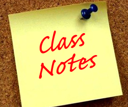 Image result for class notes image