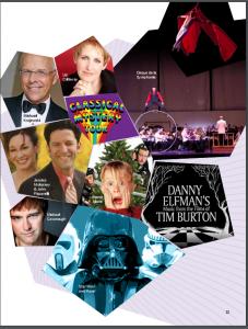 Atlanta Symphony Orchestra Flyer