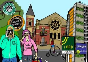 gentrification By libertyantoniasadler