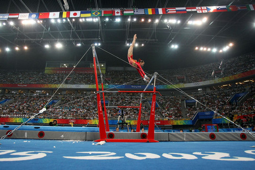 Uneven bars danielle reed - Picture of bars ...