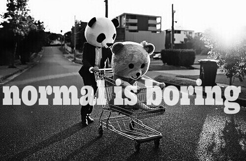 What defines normal?