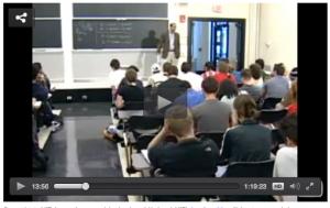 Figure 2. Lecture Video