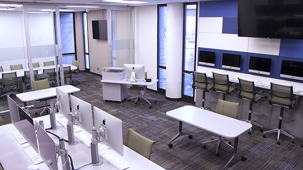 one of the newer active learning spaces on campus