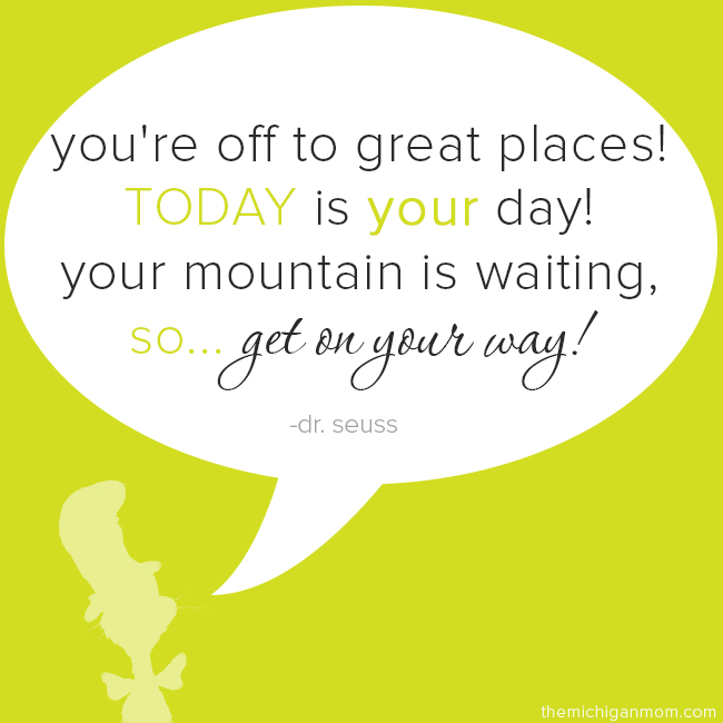 """Dr Seuss Today Is Your Day Quote: You Know, Because """"Being Crazy"""