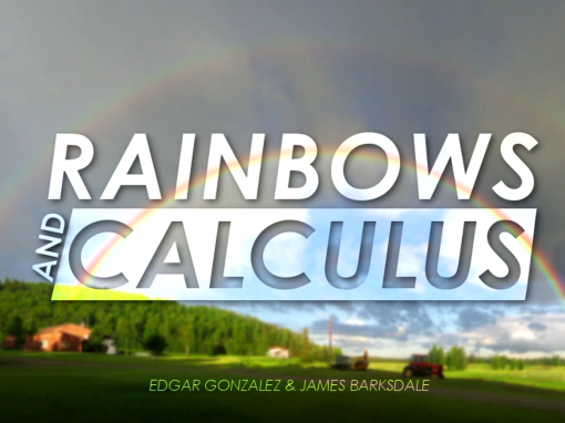 Rainbows and Calculus