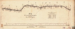 Plan and profile of the Atlanta and West Point Railroad from Atlanta to West Point on the Chattahoochee River.  Library of Congress, Geography and Map Division