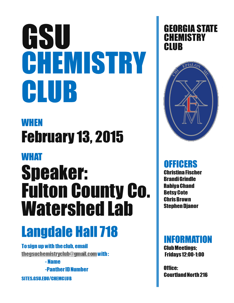 Events – Chemistry Club