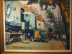 Painting of Outside Bowling Centre on HengshanRoad