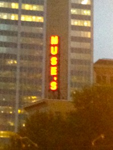 Muse's still lights up. Photo Taken By Author