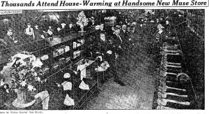 Thousands Attend House-Warming at Handsome New Muse Store, Atlanta Constitution, March 22, 1921, pg. 7.