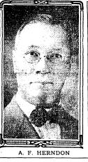 """""""Atlanta Largest and Finest Barber Shop."""" Atlanta Constitution. September 26, 1917.96"""