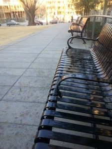 Bench at High Museum