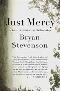 Front cover of Bryan Stevenson's