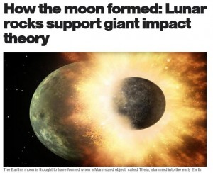 Moon Form with Theia