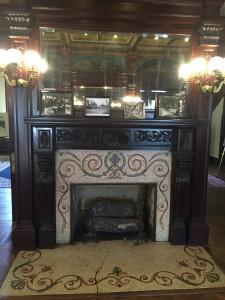 Main wood-burning Fireplace