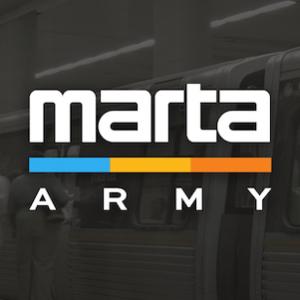 Logo for the MARTA Army