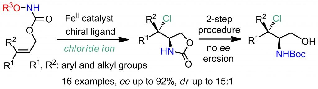 aminochlorination