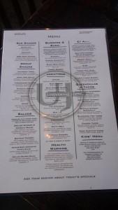 universal joint menu