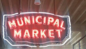 municipal marke sign