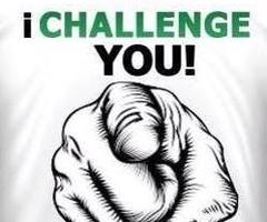 i challenge you