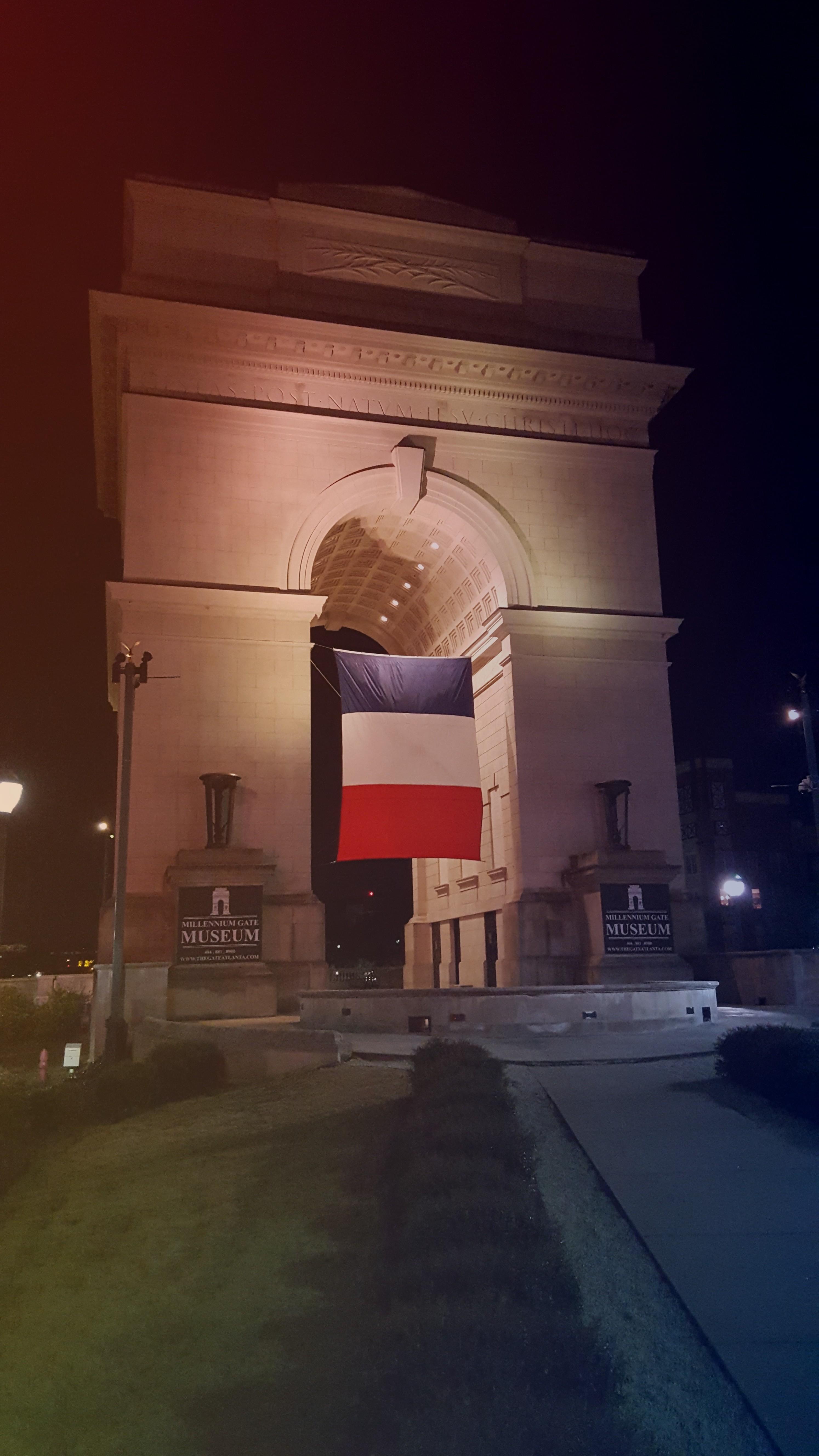 Millennium Gate Exterior