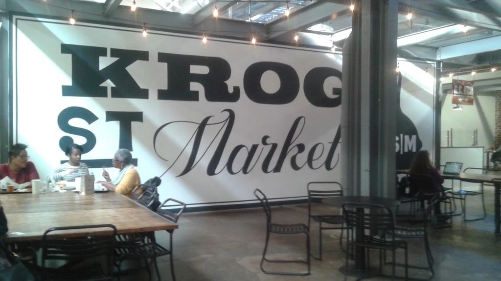 Krog Market SIgn