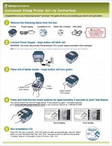 set of instructions