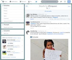 Ferguson hashtag