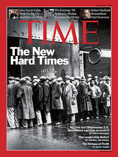 A reminder to the American people of the Great Depression and how we should avoid it.