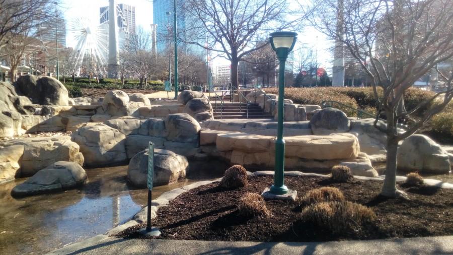 Walkways in Centennial Park by