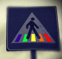 Color Walking depiction