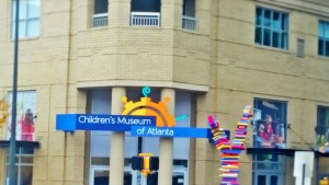 The main of entrance of the Children's Museum of   Atlanta.