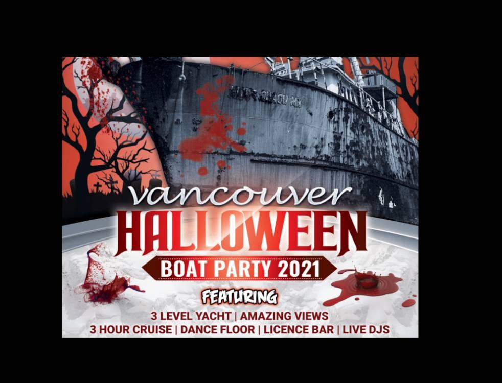 Halloween Boat Parties Vancouver