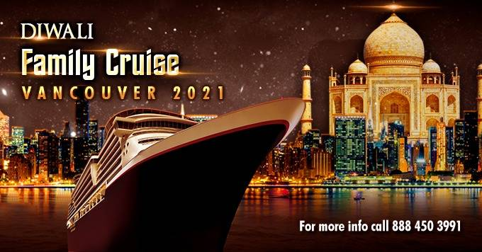Diwali Fusion Family Boat Cruise Vancouver 2021   Festival   Celebration   Food Included