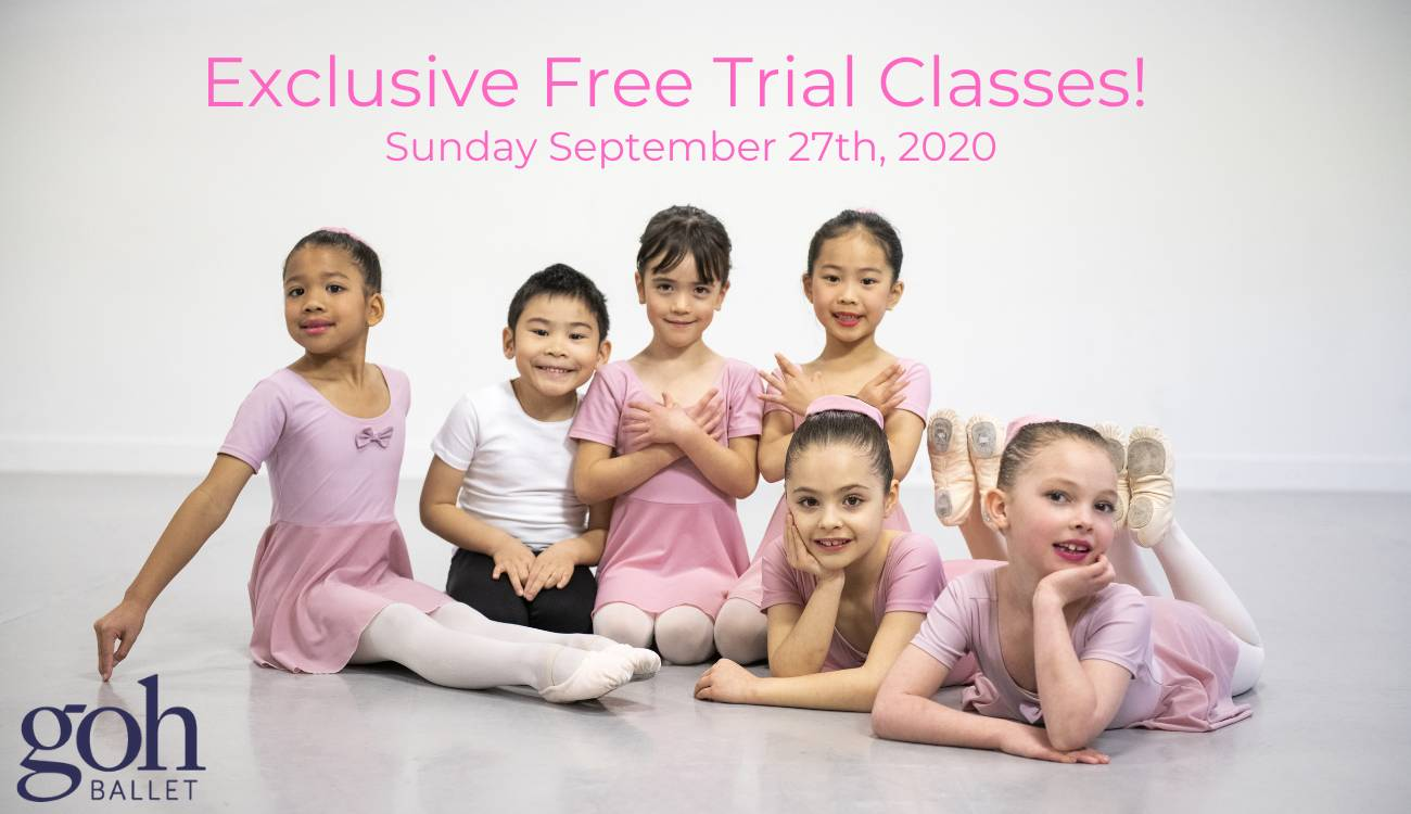 Exclusive Free Trial Ballet Classes