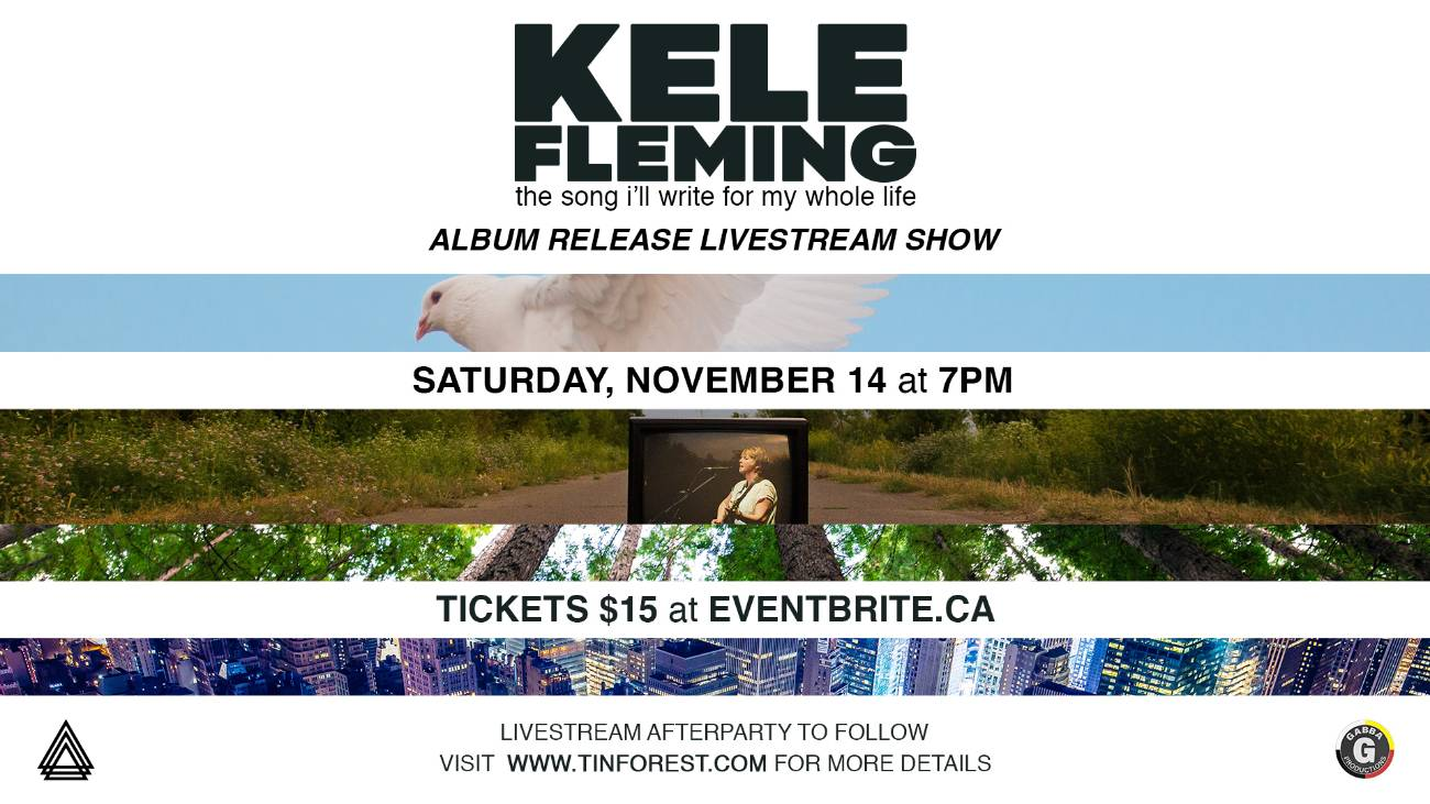 KELE FLEMING the song i'll write for my whole life ALBUM RELEASE LIVESTREAM SHOW