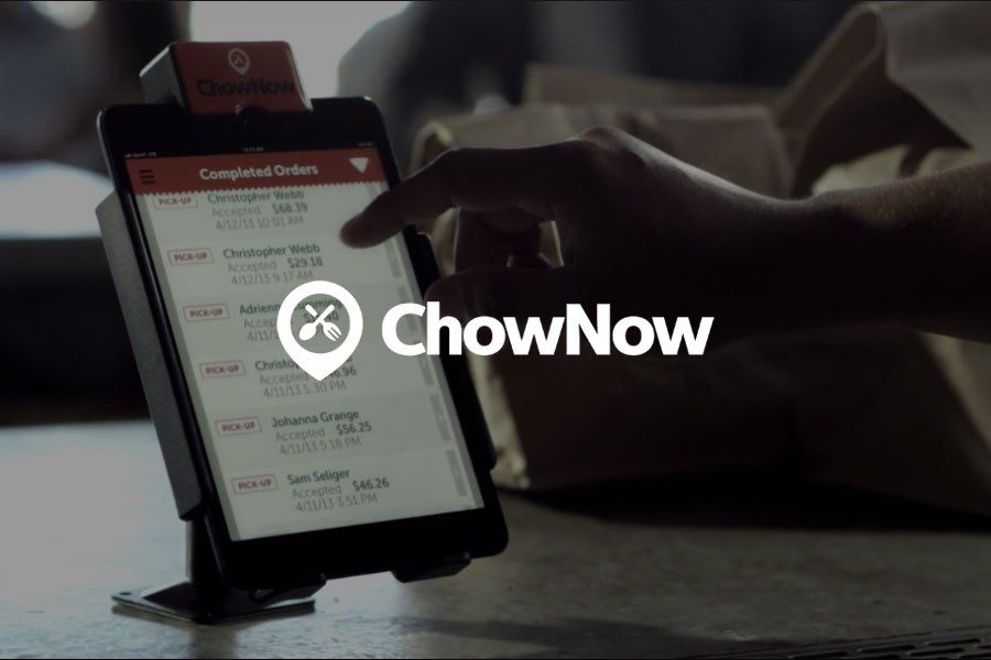 Chownow background