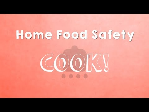 Screencap taken from Home Food Safety - Cook!