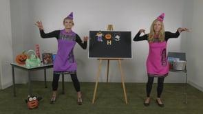 Screencap taken from Halloween Hoot Storytime Online - Episode 1